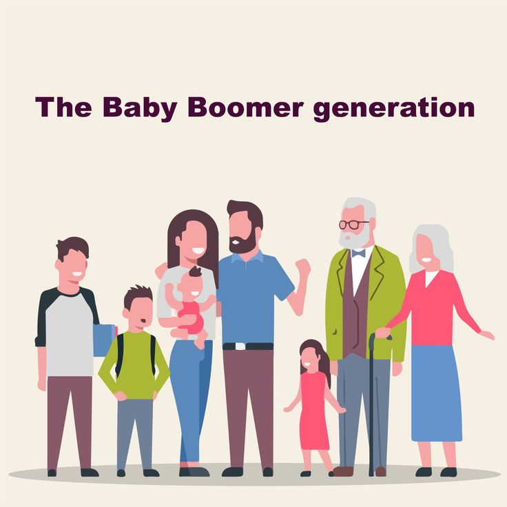 The term 'baby boomers' is a demographic cohort, referring ...