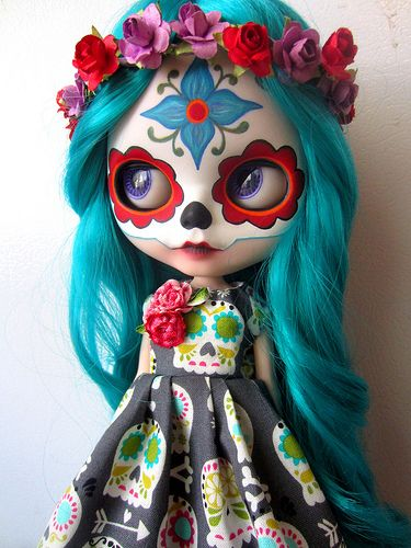 Sugar Skull dress for Fiona | Flickr - Photo Sharing!