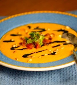 Creamy Carrot Fennel Soup from Everyday Paleo Around the World Italian Cuisine