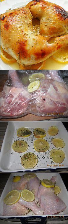 Курица с лимоном