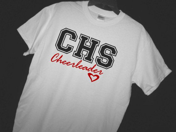 HIGH SCHOOL Letter Cheerleading Shirt