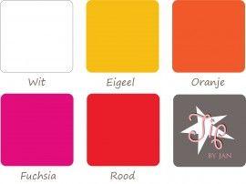 Strijkvelours / Flockfolie set Roze rood om zelf drie stropdassen uit te knippen en te strijken