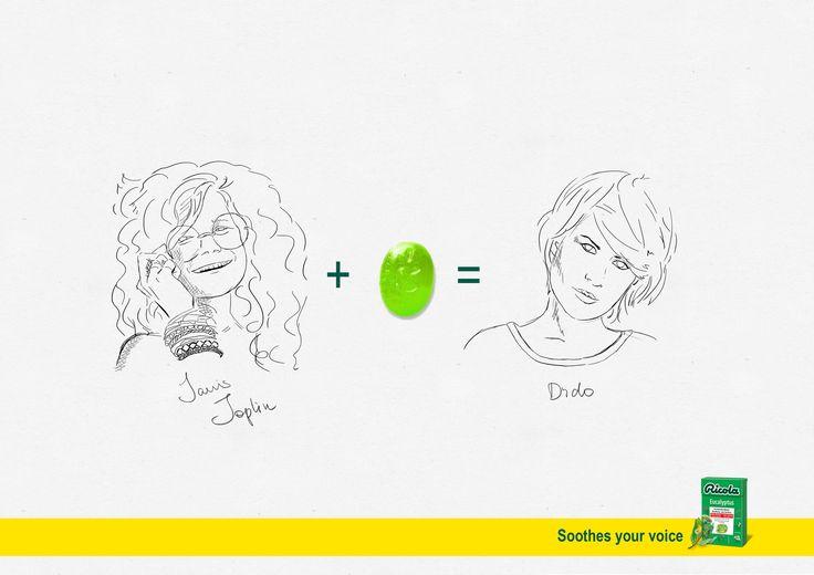 キャンディー1つで、人が変わる!? 学生が制作したとは思えないハイクオリティなプリント広告   AdGang