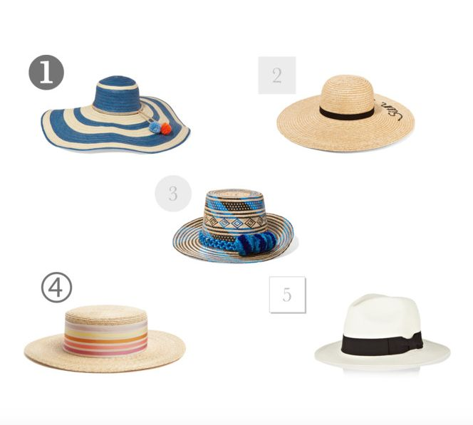 Top 5 Summer Hat Edit - Notes From A Stylist