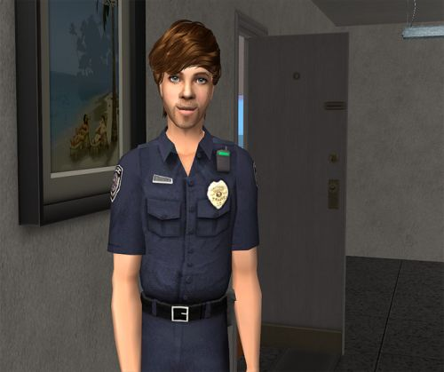 As for Guy, he moved downtown into Nina and Chastity's apartment building (neg chemistry with both!), and got a job in Law Enforcement. I kinda hate his face