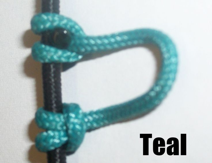 Pack Teal Archery Release Bow String Nock D Loop Bowstring BCY
