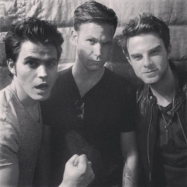 Stefan,Rick,Kol #Amores