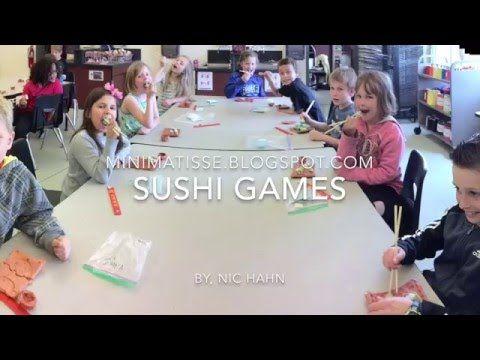 Mini Matisse: Sushi- Games, Part 3