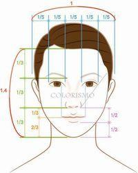 顔型別・似合うメイクレッスン(4)~離れ目タイプ~  | 30代からの美人顔メーク&似合うファッション日記