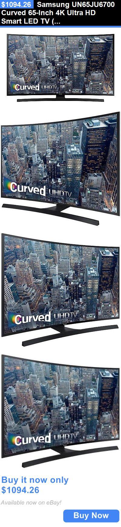 Smart TV: Samsung Un65ju6700 Curved 65-Inch 4K Ultra Hd Smart Led Tv (Un65ju6700fxza/Ob1) BUY IT NOW ONLY: $1094.26