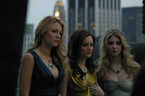 Blake Lively, Leighton Meester, and Taylor Momsen.
