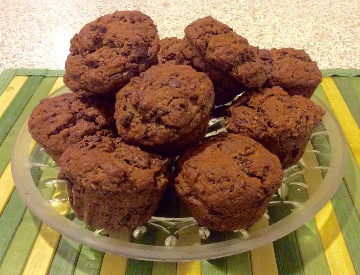 muffin mandorle e cioccolato