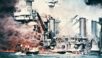 The bombing of Pearl Harbor was a surprise to most countries. However, Japan and the United States were inching towards war for decades. When Japan declared war on China, the United States officials replied with trade embargoes and a battery of economic sanctions. However this fueled Japan's urge to stand their ground. Since neither side was willing to change which made war imminent.