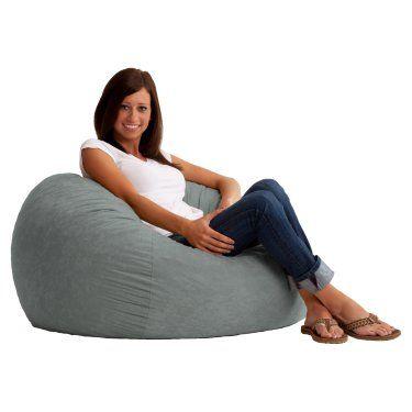 Original FUF Chair 3 ft. Comfort Suede Bean Bag Lounger - Bean Bags at Hayneedle