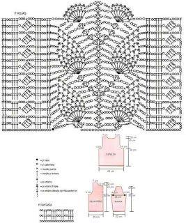 Patrones de Tejido Gratis - Chaqueta elegante (crochet)33