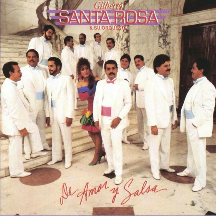 Gilberto Santa Rosa - De amor y Salsa (1988)
