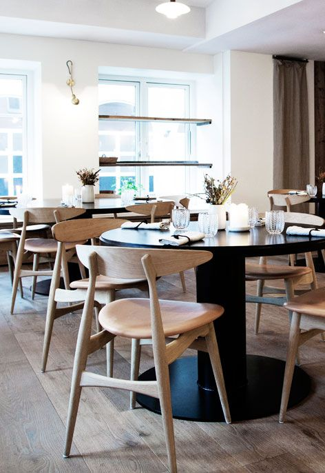 Restaurant Kadeau Copenhagen Denmark Pieces Ch33 Chair