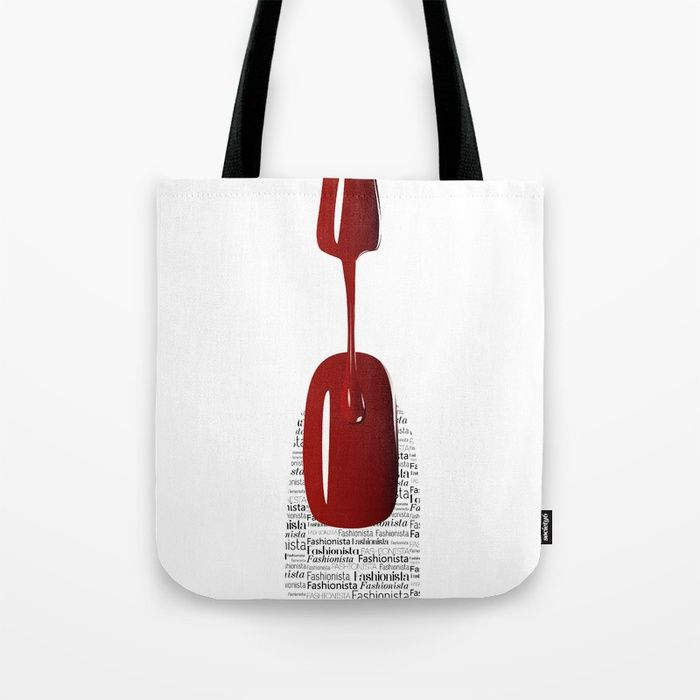 Buy Fashionista Tote Bag by okopipidesign. Worldwide shipping available at Society6.com. Just one of millions of high quality products available.