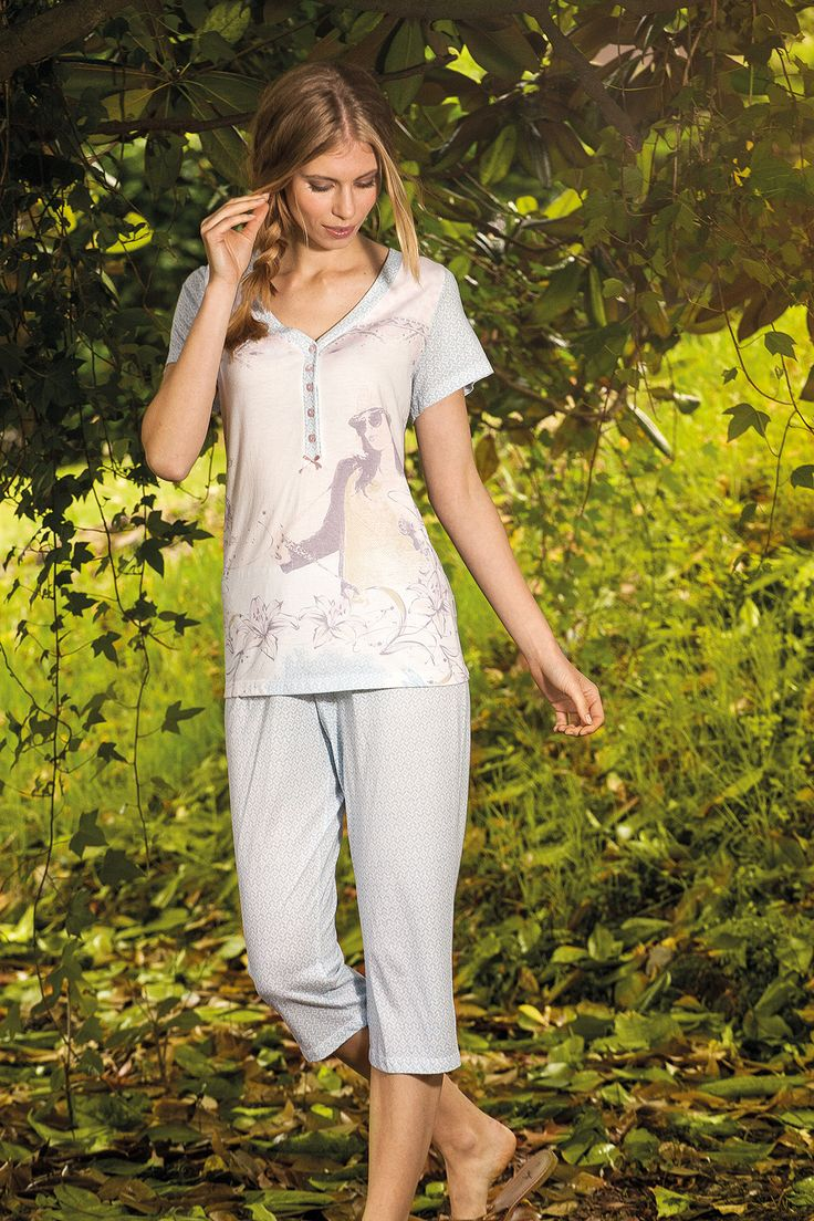 feel the nature, feel the life #neutral #calm #sleepwear #señoretta #soft