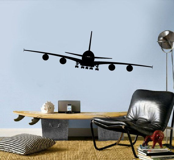36 best kid s room images on pinterest for Aviation wall mural