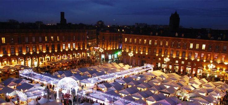 """Marché de Noël de Toulouse - Marchés """"Place du Capitole"""" à Toulouse - Toulouscope.fr"""