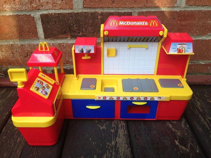 Vintage Mcdonalds Restaurant Kitchen Playset Toy with Sounds Very Rare!  | eBay