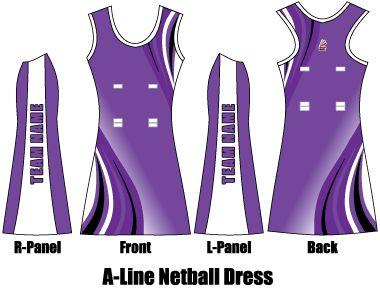 A-Line Netball Dress