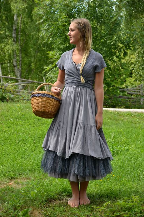 Mori girl fashion summer dress
