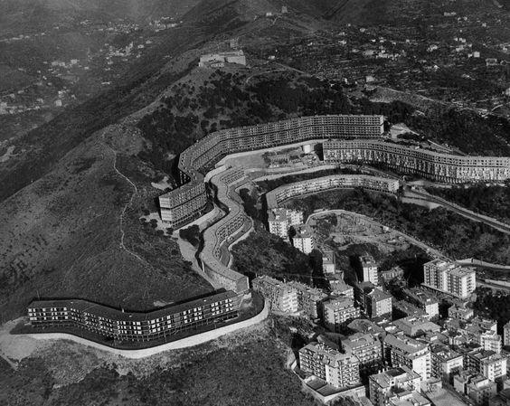Forte Quezzi Housing Estate _ Genoa, Italy _ Architect: Luigi Carlo Daneri