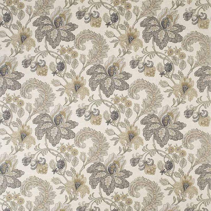 Warwick Fabrics : ARCADIA SMOKE