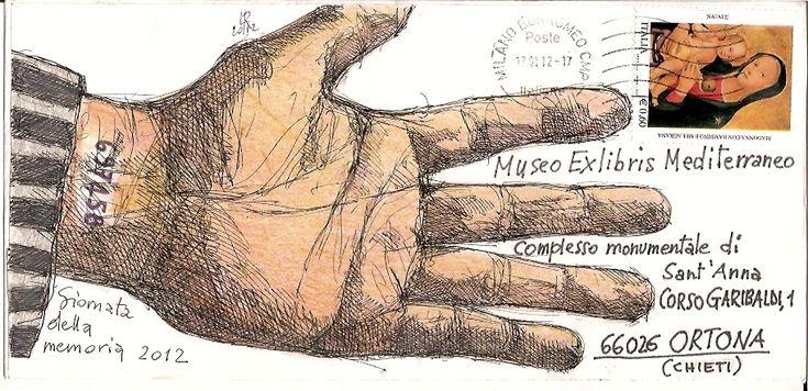 Luciano Ragozzino - Giornata della memoria (2012) #mailart #enveloppe