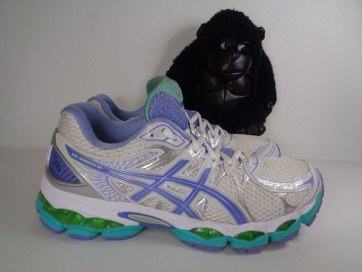Women's Asics Gel Cumulus 16 Running Cross Training shoes size 9.5 US T486N (D) #ASICS #Running