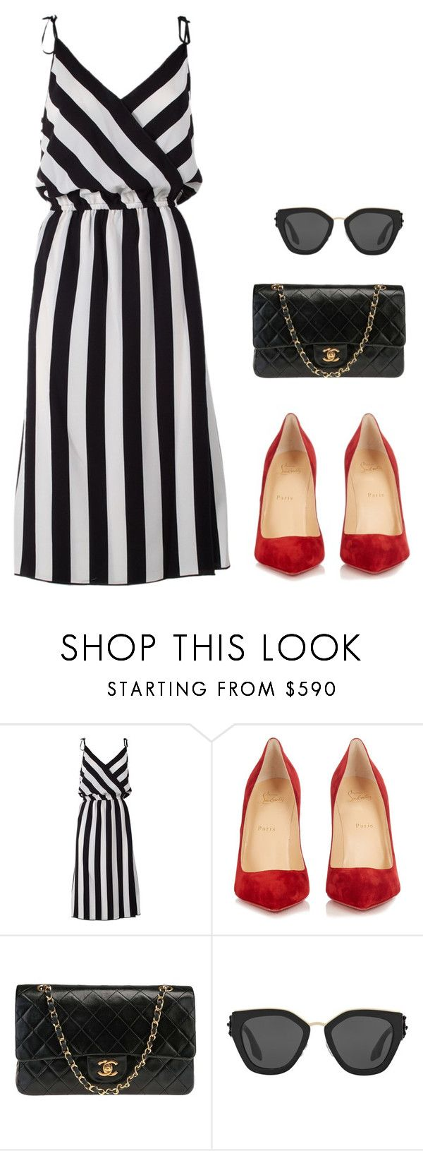 """""""Fashion inspiration"""" by monika1555 on Polyvore featuring Marc Jacobs, Christian Louboutin, Chanel and Prada"""