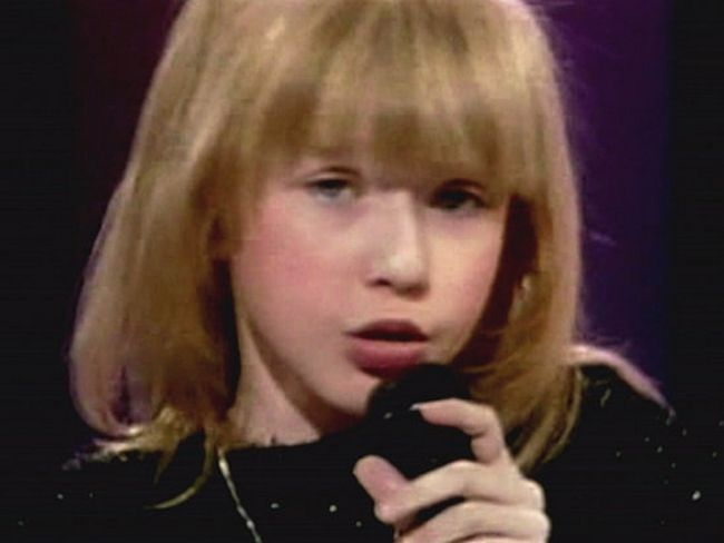 Celebrities When Young - Christina Aguilera