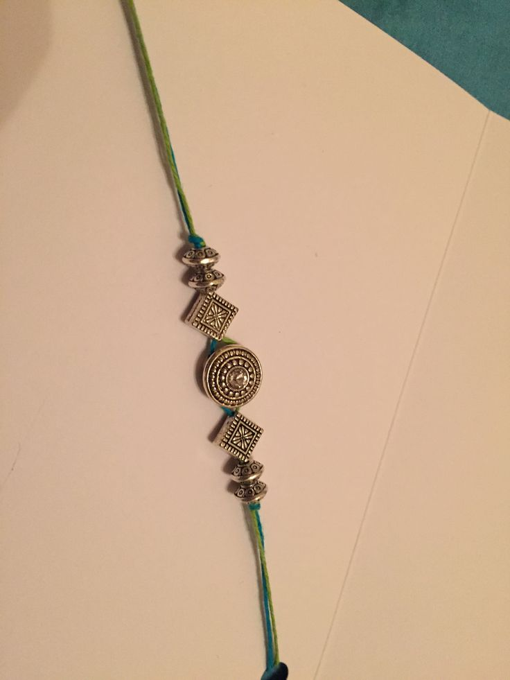 Rakhi / Bands / Bracelets - DIY