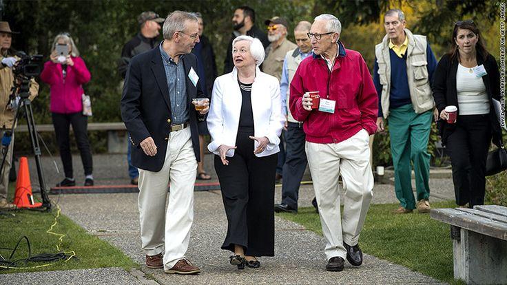 #UPDATE: Top 3 #leaders at #Fed leaving...