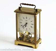 Orologio d'epoca da tavolo in Ottone Vintage Official Schatz Brass Table Clock | eBay