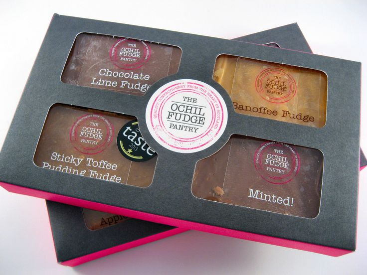 FUDGE GIFT BOX - BEST CHRISTMAS GIFT IDEAS