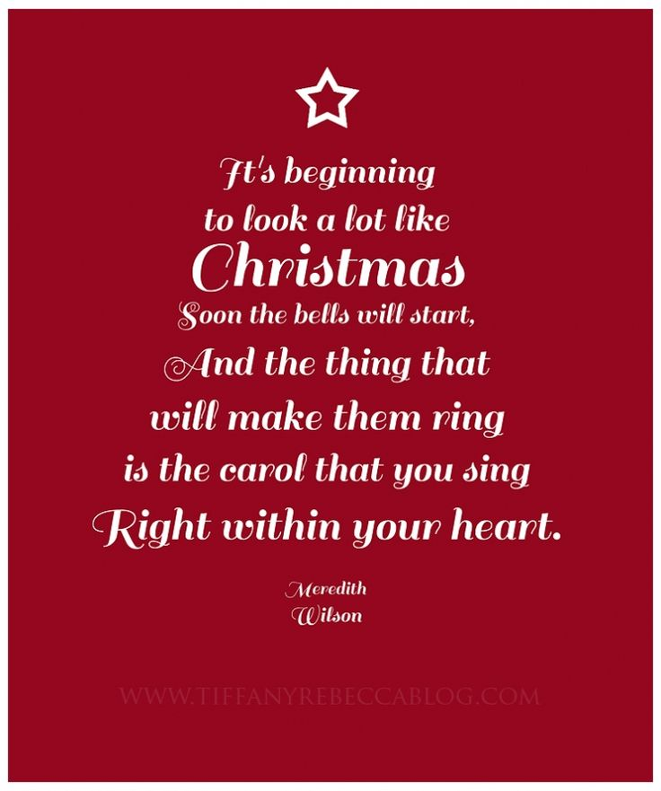 Love Quotes About Life: Christmas Song Quotes - Google Search
