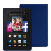 "Fire HD 7, 7"" HD Display, Wi-Fi, 8 GB (Cobalt) - Special Offers List Price: £119.00; Price: £89.00  (FREE Delivery); You SAVE £30; FAST quad-core processor (1.5 GHz); BEAUTIFUL 6"" HD display; Front and rear CAMERAS; FREE, cloud storage; Big DIGITAL CONTENT etc.  ""Saw the ad and got it because of the good price. LOVE IT!."" -- By M Bon; MORE via: http://www.sd4shila.net/uk-visitors  OR http://sd4shila.creativesolutionstore.com/inter-links.html OR http://sd4shila.creativesolutionstore.com"