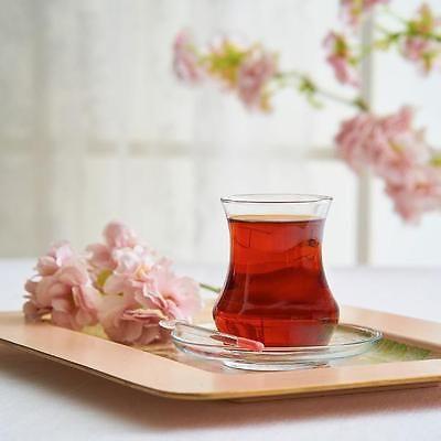 6 Cay Bardagi Set Türkische Teegläser Teeglas Teetasse Glastasse Glas Eda