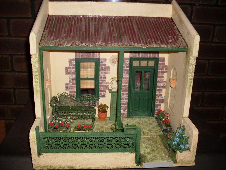 model of house in Fremantle