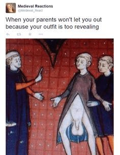 37 Hilarious Medieval Reactions That Sum Up Your Life