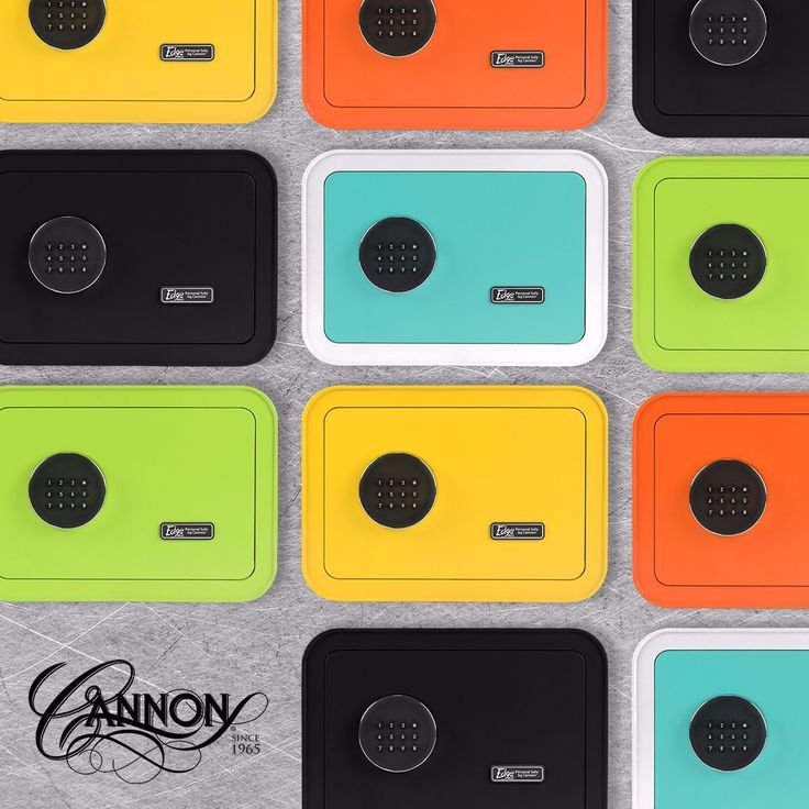 A NEW colorful design with the same great protection Cannon Safe has always offered - Check out our latest EDGE collection!