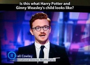 Ginny and Harry Potters son.