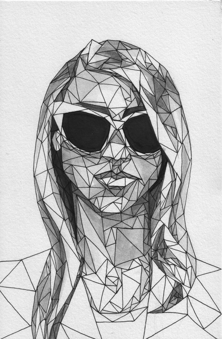 Abstract Face Line Drawing : Best abstract faces images by terri on pinterest