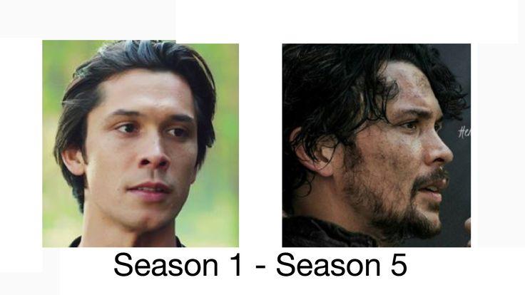 The 100 Season 5 - Season 1 Bellamy Blake.