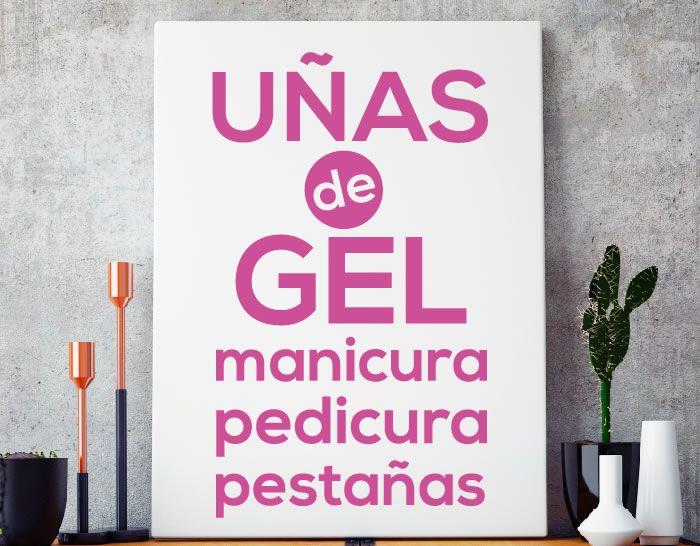 72 best images about vinilos y pegatinas para peluquer as - Ideas para decorar una peluqueria ...
