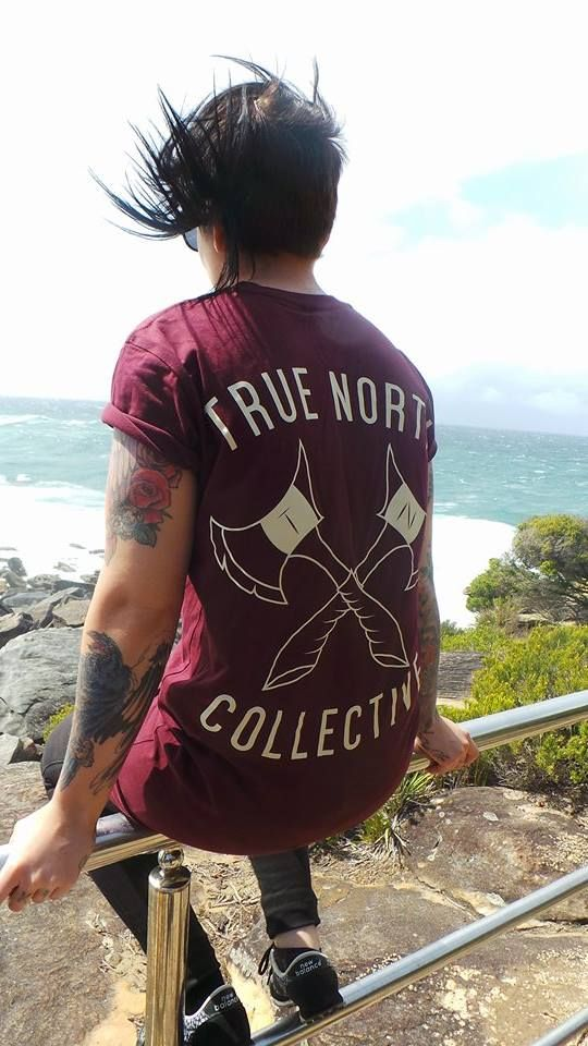Girls of the North.  www.truenorthcollectiveaus.com  #inked #tattoos #girlsofthenorth #girlswithink #tattooed #fashion #talltee #streetwear #girlswear