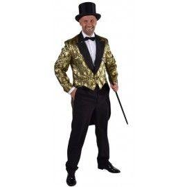 D guisement queue de pie brocart or homme luxe d guisement nouvel an et accessoire pinterest - Deguisement nouvel an ...